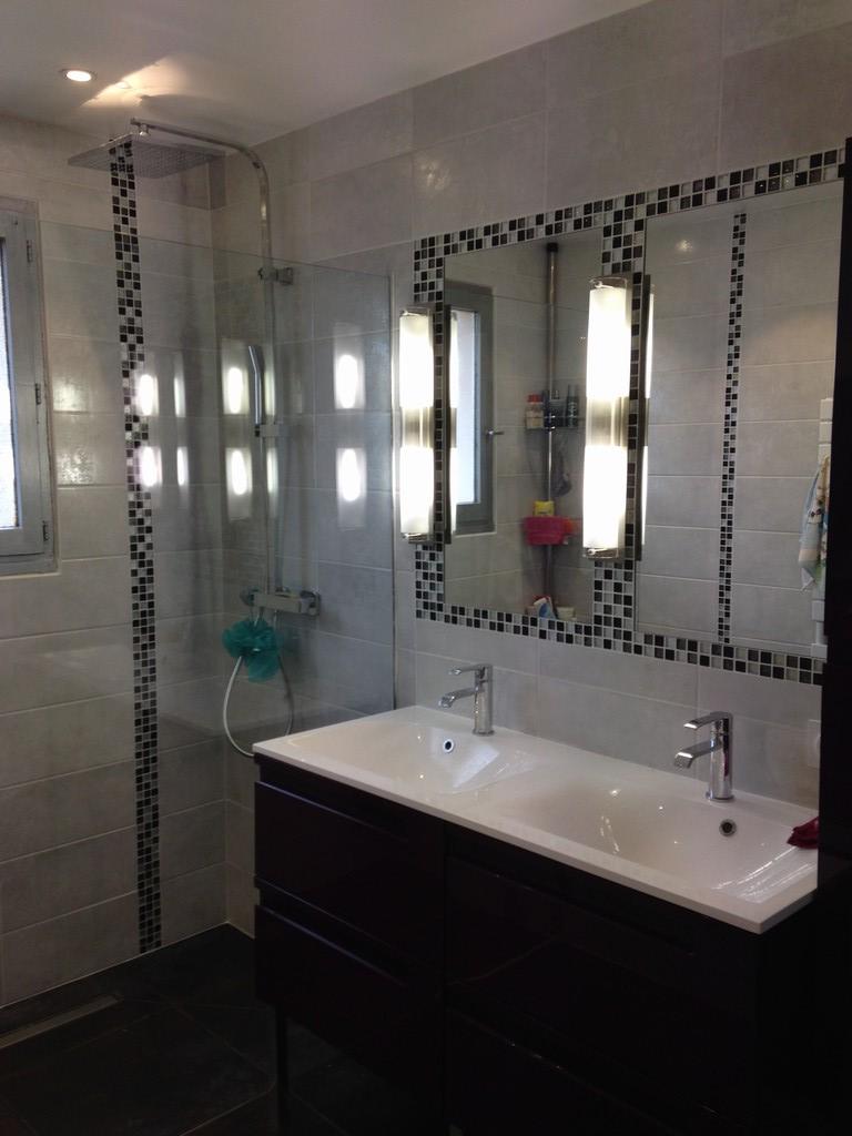 Transformation salle de bains en salle d\'eau